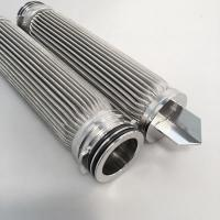 Quality Customized Stainless Steel Pleated Candle Filter For Water Treatment Plant wholesale