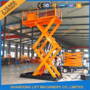 Buy cheap 3T 3.6M Cargo Loading Fied Stationary Hydraulic Scissor Lift Warehouse Scissor Lift Table from wholesalers