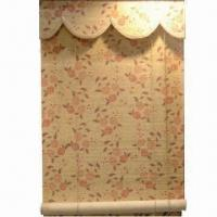 China Bamboo Roller Blind with Varnished/Printed Surface, Various Colors and Sizes are Available on sale