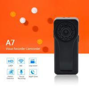 Quality 2018 New Launched Smart and Fashion Mini DV Voice Recorder WiFi P2P Camera Full HD 1080P Portable Digital Audio Recorder wholesale