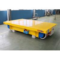 Quality 3ton 5 ton trackless motorized rail cart for inductrial workshop wholesale