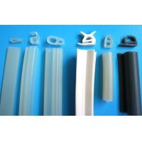 Quality Custom Silicone Rubber Sealing Strips Oven Door Gasket , Durometer Shore 40-80A wholesale