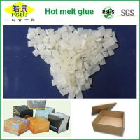 Quality Light Yellow Hot Melt Packaging Adhesive For Case Sealing With No Drawing wholesale