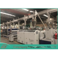 China PVC+ASA Glaze Roof Tile Extrusion Production Line Pvc Profile Manufacturing Machine on sale