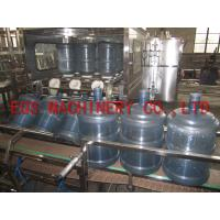 Fully Automatic 5 Gallon Filling Machine 450BPH 1 Filling Valves For Mineral Water