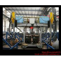 Quality H Beam Production Line Gantry Welding Machine / Equipment With Two Submerged Welder wholesale