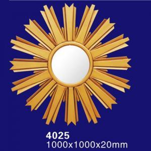 Quality 4025 PU Decoration Baroque Framed Mirror wholesale
