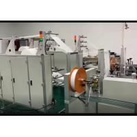 Quality N95 KN95 Non Woven Face Mask Making Machine Semi Automatic Strong Fixation wholesale