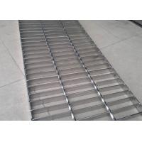 Quality Durable Stainless Steel Bar Grating , Acid Pickling Steel Catwalk Grating wholesale