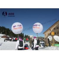 Quality Customized Inflatable Lighting Decoration Walk Ball Backpack For Outdoor Show wholesale