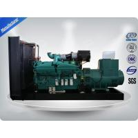 Quality 1000Kw Open Type 3 Phase water cool Genset / Cummins Diesel Generator Set H Insulation Class wholesale