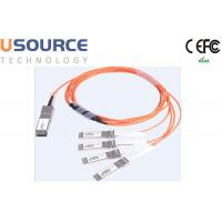 Quality 100G ethernet cable splitter 100G AOC Cable QSFP28 to 4x 25G SFP28 wholesale