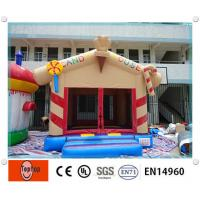 Quality Interesting PVC Candy house commercial inflatable bouncers , Inflatable Combos for kids wholesale