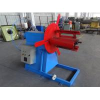 Quality Electric Decoiler 3000kg Capacity Type For Fasten & Uncoil Small Steel Coils wholesale