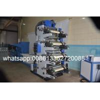 Quality Cutting Slitting Five Colour Flexographic Printing Machine For Adhesive Paper Labels wholesale