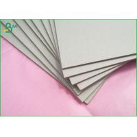 China Laminated Grey Board Paper Double Grey Side Board 0.9mm Thickness For Puzzles on sale
