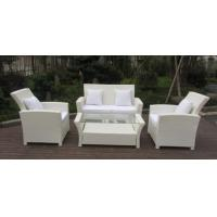 Quality Resin White Rattan Outdoor Sofa Sets Discount Rattan Furniture All Weather wholesale