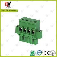 Quality Connector Terminal Block Wire Range 28-12 AWG , Plug Terminal Block wholesale