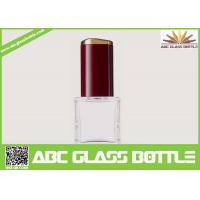 Cheap High quality 18ml clear glass bottle with screw cap for nail polish for sale
