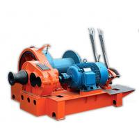 Quality 5 Ton - 15 Ton Electric Wire Rope Winch For Hoisting , Fast Slides Windlass wholesale
