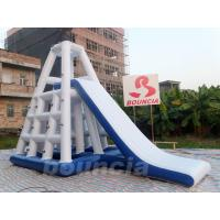 Quality 0.9mm Durable PVC Inflatable Water Climbing Slide For Water Park wholesale