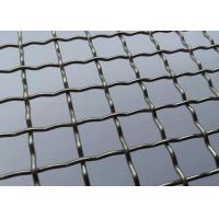Quality Plain Weave Barbecue Wire Mesh , Lock Crimp Wire Mesh For Barbecues Grill wholesale