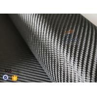 Quality 3K 240gsm Carbon Fiber Cloth Twill Weave Decoration Silver Coated Cloth wholesale