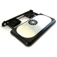 Quality Laptop CPU Cooler Four 7 cm fans ( Large-sized on/off switch ) wholesale