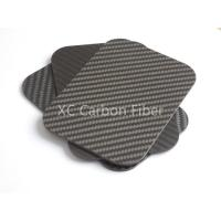 Buy cheap Discunt  Price 3k Carbon fiber twill matte sheet with factory  price product