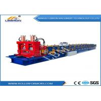 Quality Blue color Automatic CNC Control High Speed C Purlin Roll Forming Machine at factory direct sell price wholesale