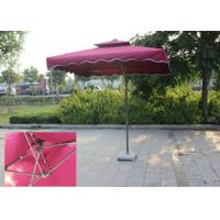 Buy cheap Suspended Rectangular Outdoor Umbrella Bali Style Digital Printed For Villa from wholesalers