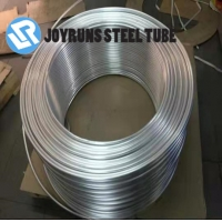 China Air Conditioner Aluminium Pipe Coil 1060 ASTM B210 Steel Tube 9.52*1mm on sale