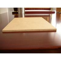 Quality Fireproof Poplar or Pine Plain 16mm 18mm MDF Sheet / Raw MDF Board for furniture wholesale