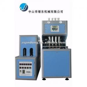 China Computer-controlled semi-automatic pet bottle making machine (2500-3000pcs/hr) on sale