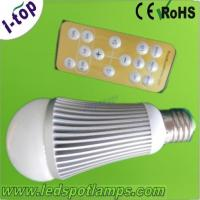 Quality New Design color temperature and brightness dimmable intelligent 6w 500lm LED light bulbs wholesale