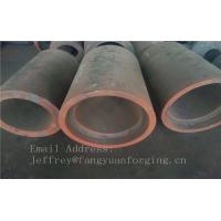 Quality C15  Forged Sleeves  Forged Tube / Block with hole Forged Ring Normalized And Proof Machined wholesale