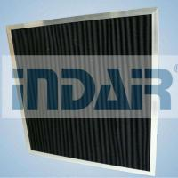 China High Air Flow Rate HVAC Air Filters Cardboard Material Activated Carbon Media on sale