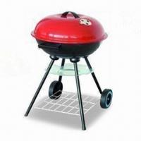 Quality Charcoal BBQ Grill with Four Legs, Two Wheels for Easy Moving, Made of Iron wholesale