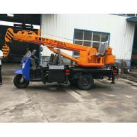 Quality Tricycle Hydraulic Truck Mounted Crane , 3- 5 Ton Lifting Mobile Truck Crane wholesale