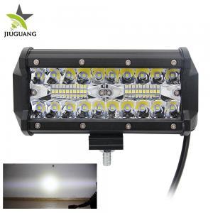 Quality High Power Off Road Led Light Bar 60 Degree Flood Beam Customized Logo wholesale
