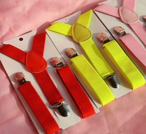 Quality Wholesale Kids Suspender Clip-on Y-Back Boys & Girls Children Elastic Suspender Factory wholesale