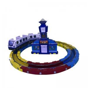 Quality Track Railway Train Amusement Arcade Machines  / Kids Amusement Ride wholesale