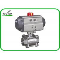 Quality Complete Encapsulation Sanitary Ball Valves Customized For Special Environments wholesale