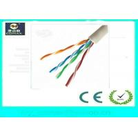 Quality 100% Copper Cat5e UTP Network Cable Fluke Pass 4 Pairs PVC Jacket For Indoor wholesale