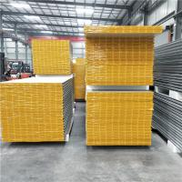 Quality 35 years 0.426mm Dongshand steel brand 50mm mgo sandwich panels for clear room wholesale