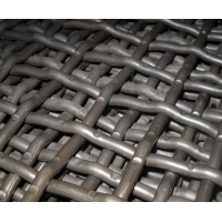 65Mn High Manganese Mining Screen Mesh Stainless Steel Crimped Woven Wire Mesh for sale