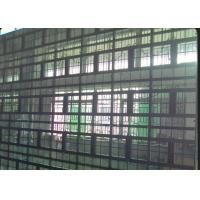 China Waterproof Wall Mounted Transparent LED Wall With Advertising Wireless 3G System on sale