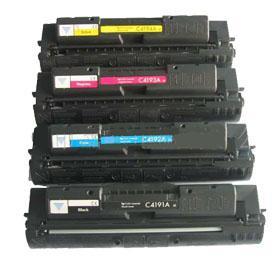 China compatible C4191A/4192A/4193A/4194A color toner cartridge on sale