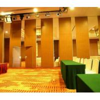Quality Restaurant Retractable Screen Acoustic Room Dividers Folding Sliding Floor to Ceiling wholesale