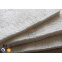 Cheap High Temperature Resistance E Glass Needle Mat High Silica 1100℃ Fire Resistance for sale